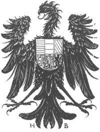 A German Imperial eagle